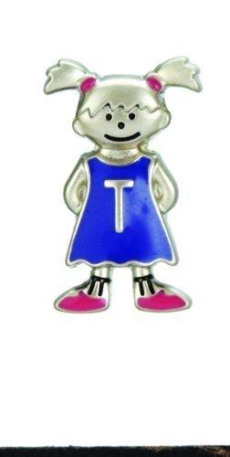 Mini My Kid's Initial Tag - Girl - T