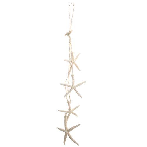 Costal Nautical Decor - Nautical Crush Trading Nautical Garland | Starfish Strand for Decoration | Beach Garland for Nautical Decor TM