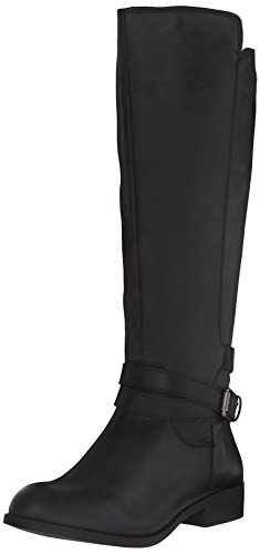 MIA Women's Private Riding Boot, Black, 7.5 M US