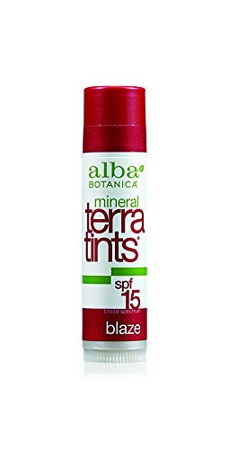 Alba Botanica TerraTints Natural Lip Balm Blaze 4.2 g by Alba Botanica
