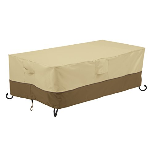 Classic Accessories Veranda Rectangular Fire Pit/Table Cover, 56-Inch -