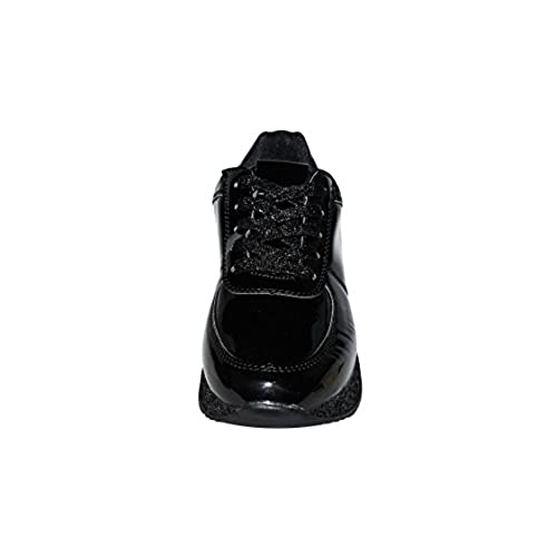 b5edd50be92a ROXY ROSE Women Fashion Metallic Sneaker Glitter Flatform Quilted Lace Up  Casual Shoes - New Design