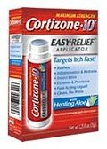 Easy Relief Applicator - Cortizone 10 Maximum Strength Easy Relief Applicator Anti-Itch Liquid, 1.25 fl oz by CHATTEM LABS