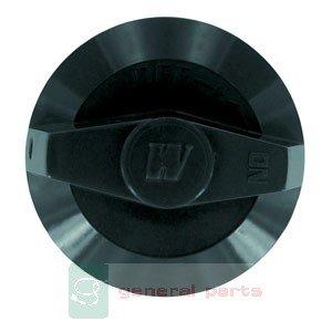 KNOB CONTROL BLACK W/SET SCREW by Vulcan Hart