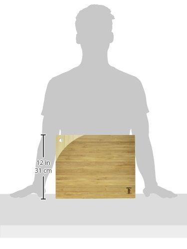 15 x 12 x 0.8 Simply Bamboo CBM115 Maui Cutting Board 15 L x 12 W