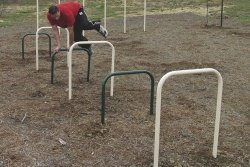 Sports Play 511-143 Over-Under Bars Play Ground Equipment
