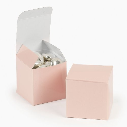 Pink Favor Boxes (Mini Light Pink Gift Boxes (2 dz))