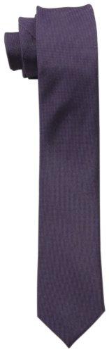 Calvin Klein Men's X Liquid Luxe Solid Tie, Violet, One Size