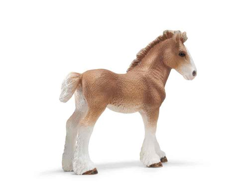 Schleich Clydesdale Foal Toy Figure