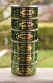 St. Jude Garlic Canned Tuna (6 cans), 3.5 oz by St. Jude Tuna