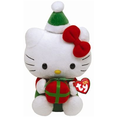 Ty Beanie Babies Hello Kitty with Present (Best Hello Kitty Presents)