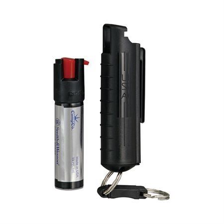 Cheap Smith & Wesson Pepper Shield Quick Release Large Pepper Spray Keychain with Hard Case.75-Ounce, Black Finish