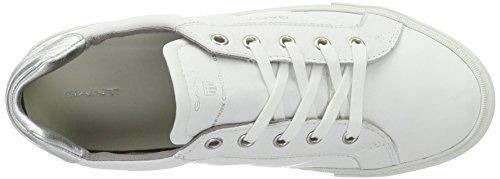 sale huge surprise Gant Women's Alice Trainers White (Bright Wht.+silver G291) pre order vYr517Q