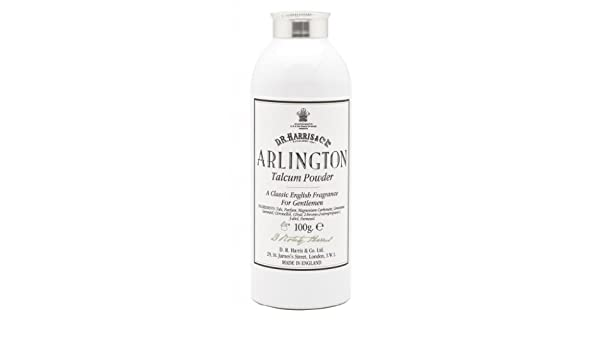 D.R.Harris & Co Arlington Talcum Powder 100g by D.R.Harris & Co: Amazon.es: Salud y cuidado personal