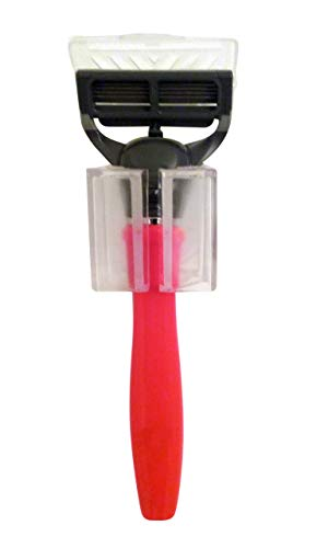 razorGrip by izzi mo (Clear) - The NEW suction cup 'Soft Touch' shower razor holder loofah holder hook gadget grip for home or RV. Great stocking stuffer. Perfect for travel.