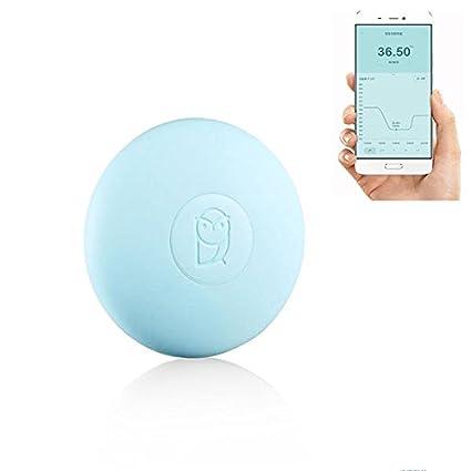 Xiaomi Miaomiaoce - Termómetro Digital para bebé, con Bluetooth, termómetro médico Inteligente, 24