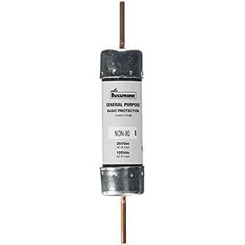 amazon.com: bussmann non-200 200 amp one-time blade fuse ... fuse box 200 amp porcelain