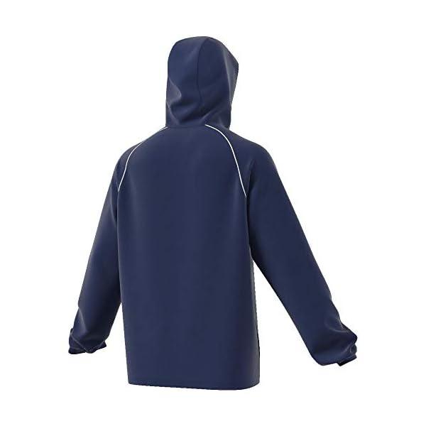 adidas Core18 Rain Jacket, Giacca Sportiva Uomo
