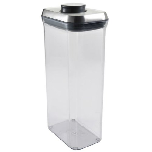 Display Rectangle System Modular (OXO SteeL Airtight POP Container -Rectangle (3.4 Qt))