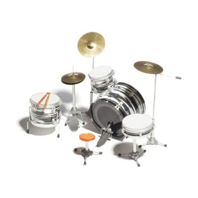 Ringo Starr Beatles Miniature Oyster Drum Set Collectible - DECORATION ONLY: Musical Instruments