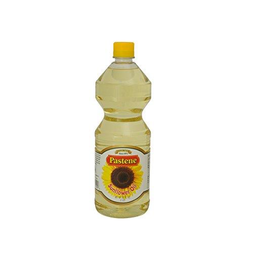 Pastene Sunflower Oil, 32 Ounce (Pack of 6) by Pastene (Image #1)