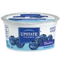 Upstate Farms Nonfat Blueberry Yogurt, 4 Ounce -- 48 per case. by Upstate Niagara Coop (Image #1)