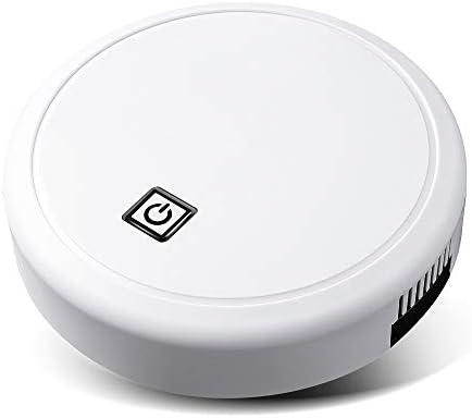 Mdsfe Nouveau Smart Auto Robot Aspirateur Multifonctionnel 3-en-1 Électrique USB RechargeableMop Usage Domestique Aspirateur de Balayage - Blanc