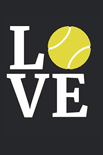 Price comparison product image Tennis Notebook - I Love Tennis Tennis Lovers T-Shirt - Tennis Journal: Medium College-Ruled Journey Diary,  110 page,  Lined,  6x9 (15.2 x 22.9 cm)