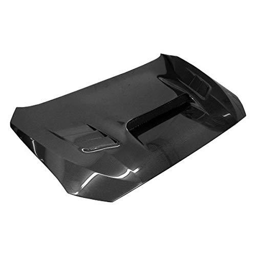 (VIS Racing (VIS-LQY-762) VRS Style Hood Carbon Fiber - Compatible for Subaru WRX 2015-2018 (2015 2016 2017 2018 | 15 16 17 18))