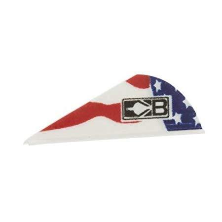 Bohning American Flag Blazer Vane (36 Pack) (3 Pack) by Bohning
