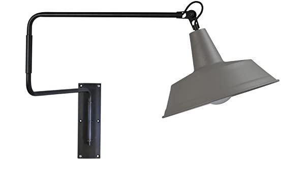 Exclusiva lámpara de hotel (la Industria, Loft, pantalla ancha) Loft Lámpara Cocina Bombilla Lámpara de interior la Industria Proyección Piso lámpara de pared: Amazon.es: Iluminación