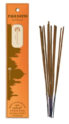 PALO SANTO TRADITIONAL & NATURAL INCENSE 10STICKS - HONEY - HAND ROLLED - FIORE D'ORIENTE FIORE D'ORIENTE