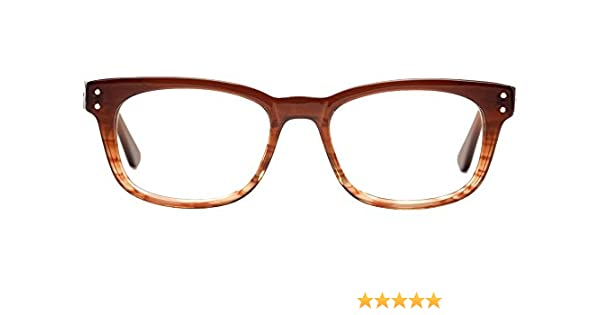 27223a1853 Amazon.com  Computer Glasses by Phonetic Eyewear Babbit in Crystal Chestnut  Stripe with Blue Light Protection  Health   Personal Care