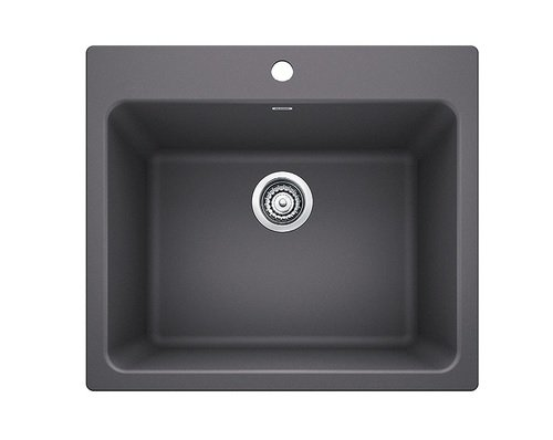 - Blanco 401923 LIVEN Laundry Sink Cinder, 25
