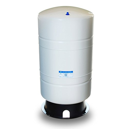 (iSpring T20M 20 Gallon Water Storage Tank for Well and Reverse Osmosis RO with 14 Gallon Capacity, White)