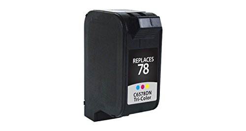 Inksters Remanufactured ink Cartridge Replacement for HP 78 Ink Tri-Color, C6578DN (HP 78)