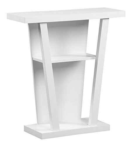 Cheap Monarch Hall Console Accent Table, 32-Inch, White