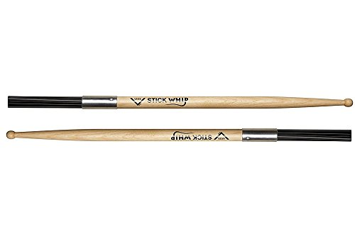Vater VSTKW Stick Whip Fusion Drumstick with Whip ()