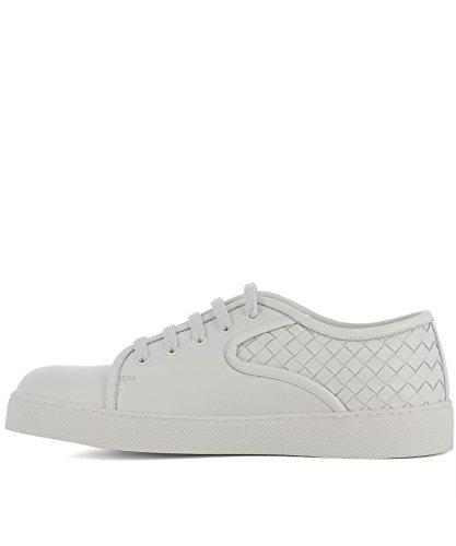 Bottega Veneta Mannen 475167v00139000 Witte Lederen Sneakers