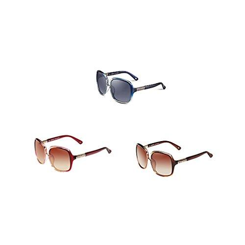 de Dame Red soleil lunettes grand cadre face ronde de dpp6zqR
