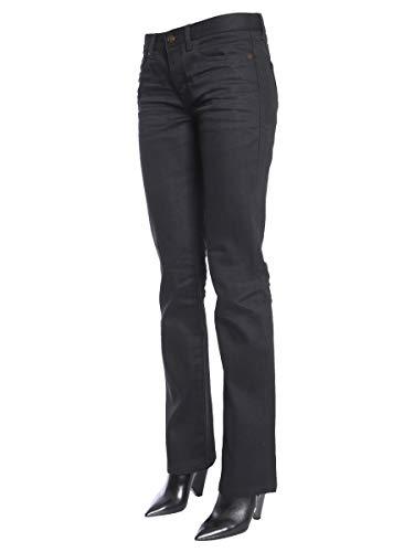 Negro Jeans Algodon 535317yf8691080 Saint Laurent Mujer qTRxBU