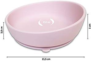 Twinkle - Magic Bowl - Bol de Silicona con Ventosa para Bebe ...