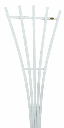 (Highwood AD-TREL1-WHE Hartford Fan Trellis, White)