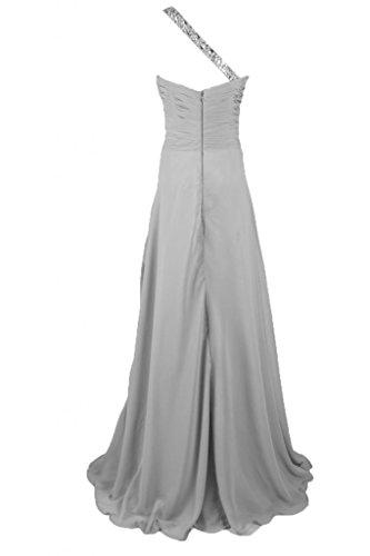 linea vestito da Sweetheart Sunvary della Chiffon sera One Grey collo lungo a wWFFnAqXS