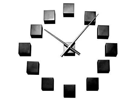 Karlsson Do It Yourself Wall Clock Cubic Black Amazoncouk