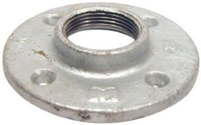 PANNEXT FITTINGS G-FLF07 Galvanized Floor Flange, 3/4