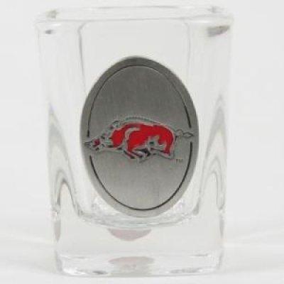 Great American Products Arkansas Razorbacks 2oz Square Shot Glass