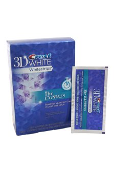 Crest 3d White 1-hour Express Teeth Whitening Kit 8 Strips - 4 Treatments NA