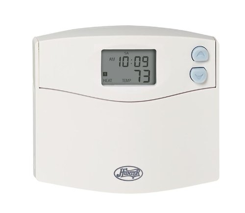 HUNTER 47110A Set & Save Digital Programmable Thermostat Whi