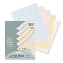 Parchment Bond Paper - Pacon Parchment Bond Paper, 8-1/2 x 11 Inches, Assorted Colors, 100 Sheets